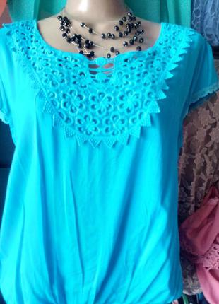 Акция!блуза из натуральной ткани в разных цветах