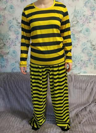 Карнавальный костюм заключённого,зэк, каторжник
