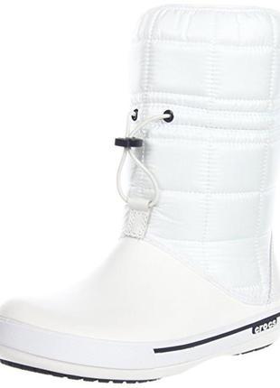 Зимние сапоги crocs crocband ii. 5 winter boot, w7