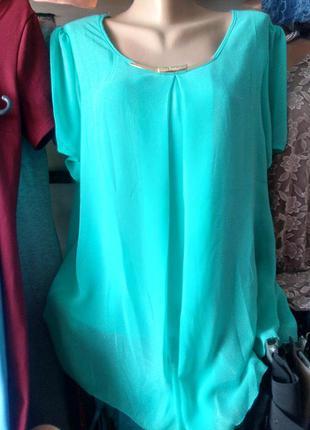 Легкая блуза большие размеры