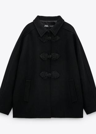 Шикарне шерстяне пальто 🔥zara🔥