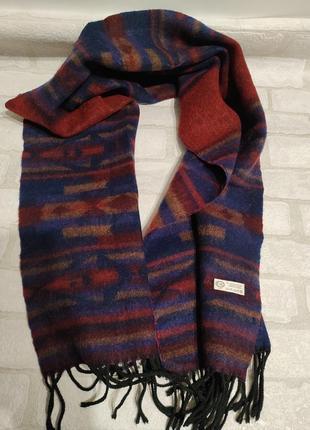 Стильный, брендовый, теплый, мужской шарф