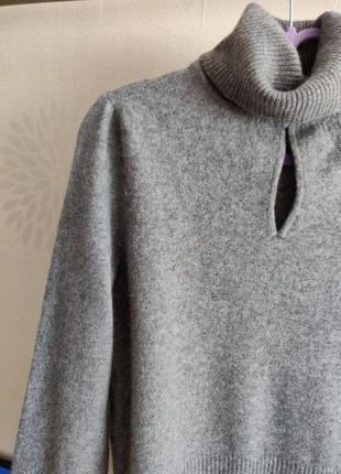 Кашемировый свитер джемпер гольф