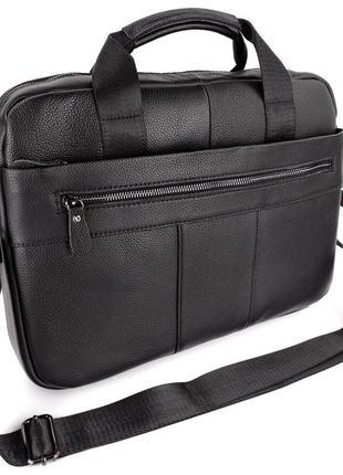 Мужской портфель сумка через плечо для ноутбука, офиса, а4