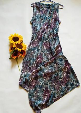 Очень легкое красивое платье в пол