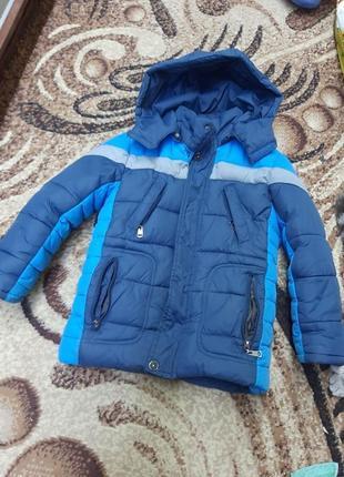 Зимняя курточка 4-5л