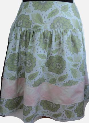 Стильная льняная юбка бренда  noa noa