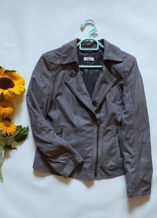 Мягкая ветровка куртка косуха