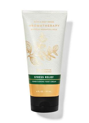 Крем для ног aromatherapy eucalyptus spearmint bath and body works