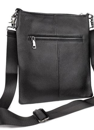 Кожаная мужская сумка через плечо, мужские сумки в стиле минимализм