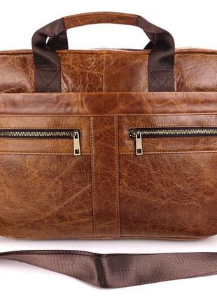 Мужская сумка портфель для ноутбука, офиса, документов, а4, мужские сумки
