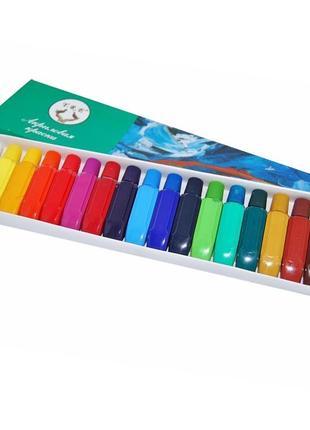 Набор акриловых красок 18 цветов по 6 мл