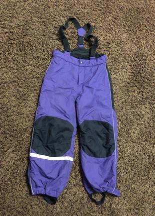 Лыжные штаны h&m 5-6 лет, 116 рост
