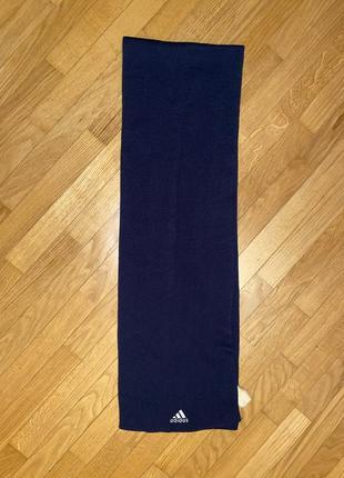 Мужской шарф адидас синий 🔹🔹🔹🔹🔹