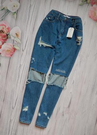 🌿 обалденные брендовые джинсы мом. размер xl🌿