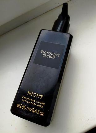 Парфюмированный лосьон для тела victoria's secret night 250мл