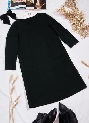 Классическое платье черное
