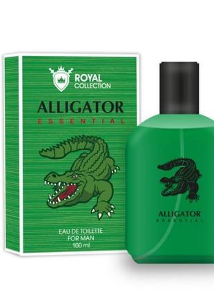 Туалетная вода royal collection alligator essential мужская 100мл