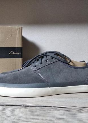 Clarks слипоны мокасины кеды туфли натуральная кожа