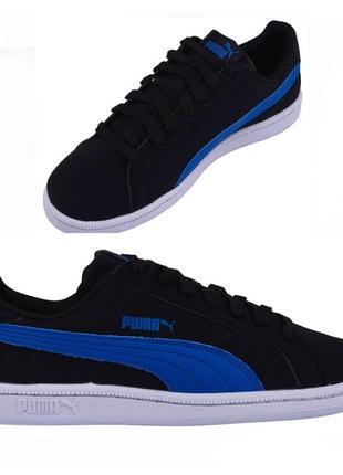 Новые кроссовки puma smash buck мокасины кеды на шнурках оригинал
