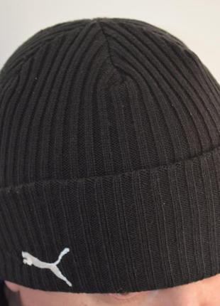 Теплая шапка puma ® cat beanie