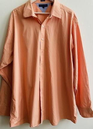 Мужская рубашка tommy hilfiger p.18 1/2/ 36-37 #1643 sale❗️❗️❗️black friday❗️❗️❗️