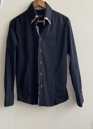 Рубашка мужская р.l #1239 sale❗️❗️❗️black friday❗️❗️❗️