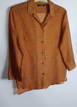 Винтажная рубашка odeen p.xs