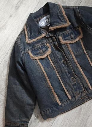 Куртка джинсовый пиджак