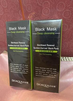 Bioaqua black mask(2шт.)