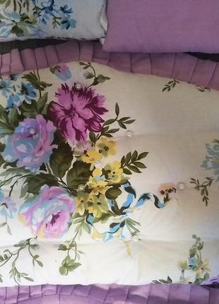 Бортики,простинь на резинке на кроватку