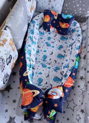 Акция!! кокон гнёздышко + ортопедическая подушка