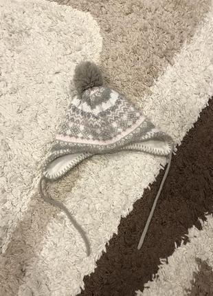 Тёплая шапка lupilu