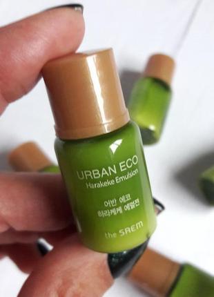 Эмульсия с новозеландским льном the saem urban eco harakeke emulsion (пробник)