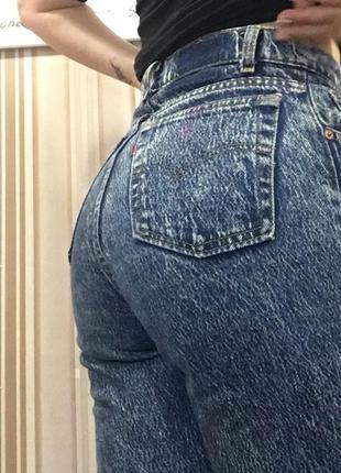 Ретро джинсы котон джинси висока посадка