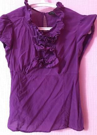 Шелковая блузка principles petit