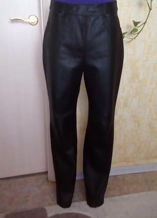 Крутые 100% кожаные брюки/штаны/брюки/джинсы/кюлоты