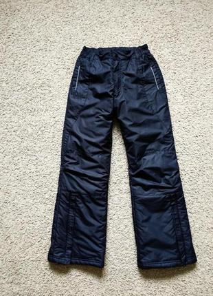 Зимние лыжные штаны брюки размер 152