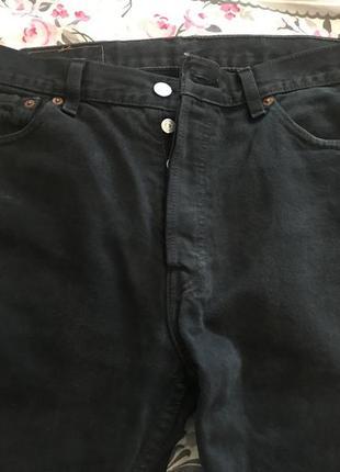 Чоловічі джинси levis 501 w-34/l-34