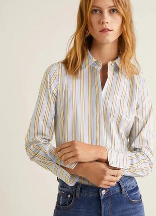 Рубашка манго блуза