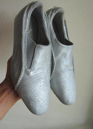 Кожаные кроссовки puma