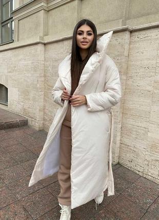 Удлинённая куртка одеяло