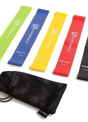 Набор фитнесс резинок для кроссфита спортивные резинки для фитнеса