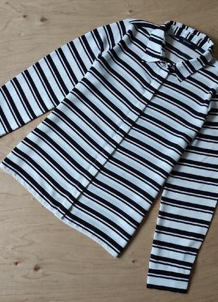 Красивая блузка  рубашка  в  полоску atmosphere в отличном состоянии