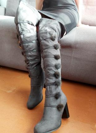 Новые ботфорты/ботинки/сапоги