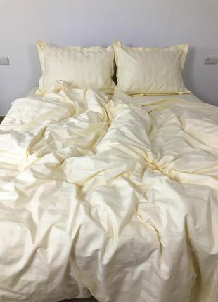 Постільна білизна преміум якості. 100%бавовна, тканина -страйп-сатин