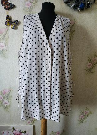 Новая женская блузка в горошек # блузка # стильная блузка # new look
