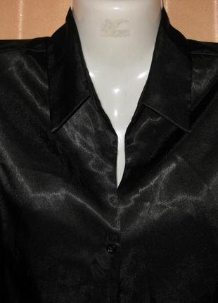Классическая блузка под шелк, dorothy perkins, 12uk/40eur, км0850