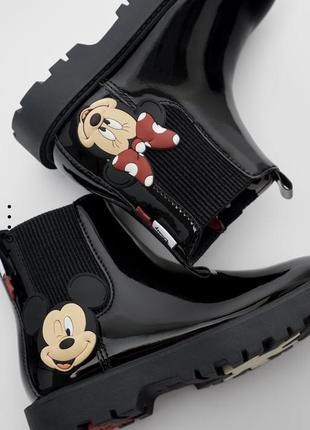 Мега крутие ботинки zara со скидкой -50% 33,34,35 только по 1 шт
