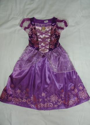 Карнавальное платье рапунцель на 3-4 года